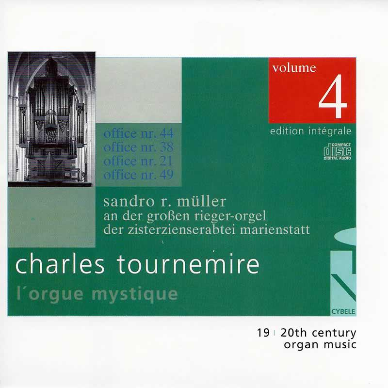 Cover »Charles Tournemire:  L'Orgue Mystique (Vol. 4)«