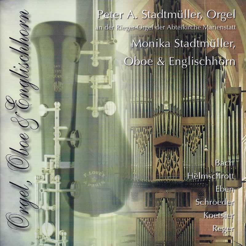 Cover »Oboe, Englischhorn & Orgel«