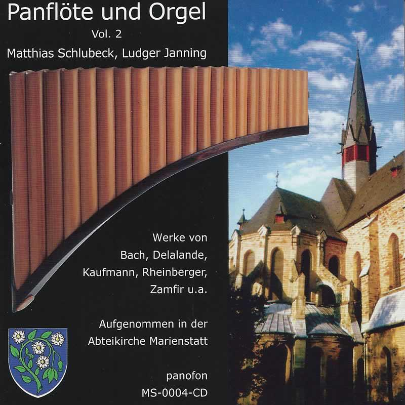 Cover »Panflöte & Orgel, Vol. 2«